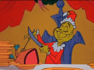 christmas, cook, dinner, eat, eating, eve, feed me, food, go, grinch, hangry, here, holiday, hungry, lunch, merry, serve, xmas, you, yum, Who's hungry? GIFs