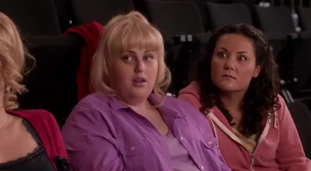 """Watch When my friend confesses something truthfully """"Woop, there it is"""" GIF on Gfycat. Discover more fat patricia, or amy, pitch perfect, whateva GIFs on Gfycat"""