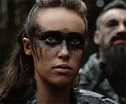 Watch and share Alycia Debnam Carey GIFs and Commander Lexa GIFs on Gfycat