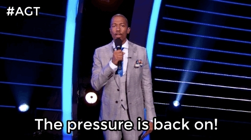 agt, america's got talent, mondays, nick cannon, real talk, we're all in this together, you are not alone, We know going back to work after the weekend is hard GIFs