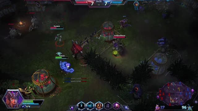 Watch and share Heroes Of The Storm GIFs and Magic Missiles GIFs by Felewin on Gfycat