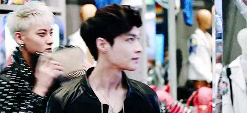 Watch and share Yixing GIFs and Exo M GIFs on Gfycat
