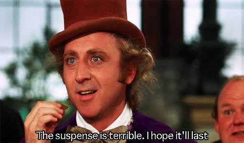 Watch this popcorn GIF by Reaction GIFs (@sypher0115) on Gfycat. Discover more Gene Wilder, popcorn, suspense, thisisgonnabegood GIFs on Gfycat