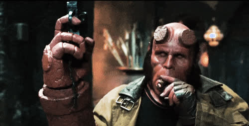 hellboy, hellboy movie,  GIFs