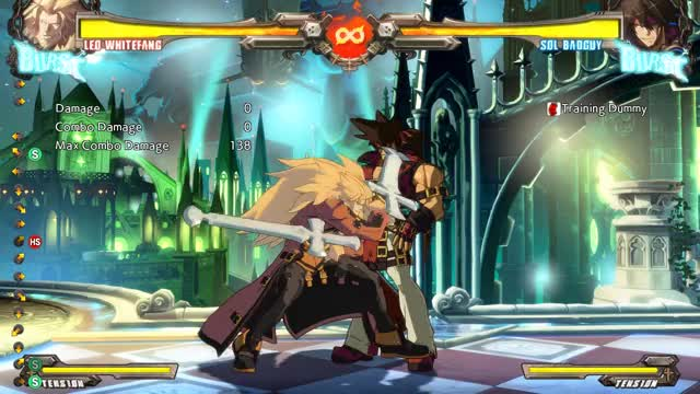 Watch Leo basic Combo GIF by @sageth on Gfycat. Discover more Guilty Gear, Leo, REV2, Whitefang, XRD GIFs on Gfycat