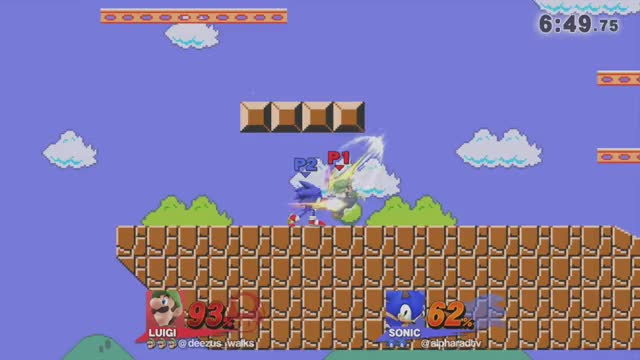 Watch and share Sonic's Silly Airdodge Read GIFs by Alpharad on Gfycat