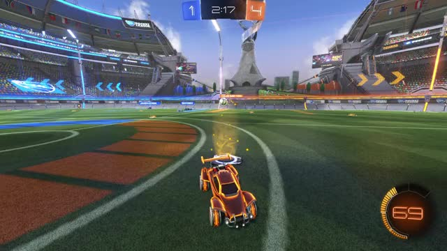 Watch and share Rocket League Backwards Aerial Pass GIFs by David Harris on Gfycat