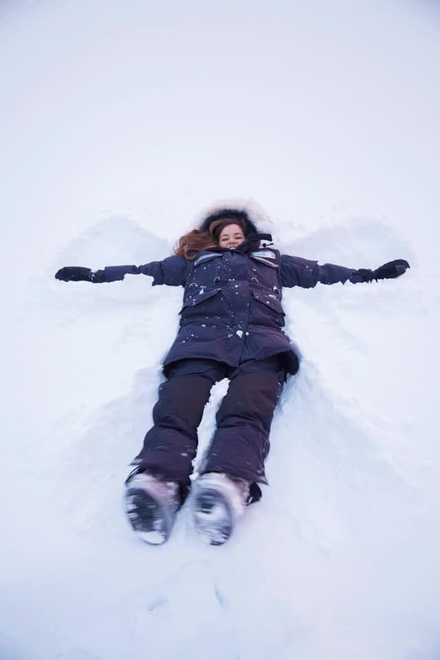 Watch and share Snow-Angel GIFs on Gfycat