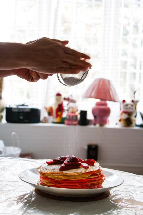 Watch Canada Day Mille Crepe Cake GIF on Gfycat. Discover more related GIFs on Gfycat