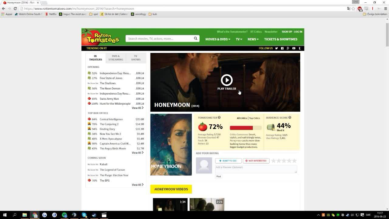 crappydesign, Rotten Tomatoes video player GIFs