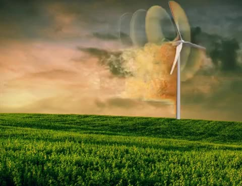 Watch and share Wind Turbine OpenFOAM Simulation - Sky - By CFD Support GIFs on Gfycat