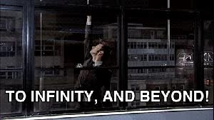 Watch and share To Infinity And Beyond GIFs on Gfycat