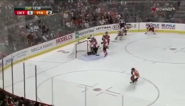 Watch and share Kronwall GIFs and Voracek GIFs on Gfycat