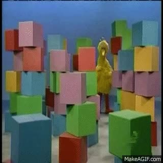 Watch and share Sesame Street Big Bird GIFs on Gfycat