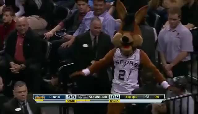 Watch and share San Antonio Spurs GIFs and Spurs Mascot GIFs on Gfycat
