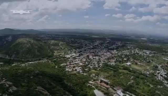 Watch and share Peña De Bernal Desde El Aire GIFs on Gfycat