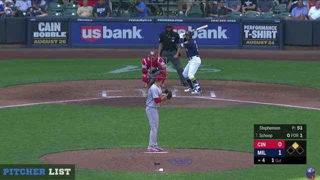 Watch and share Milwaukee Brewers GIFs and Cincinnati Reds GIFs by henry.still on Gfycat