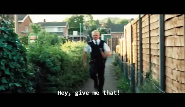 Watch and share Respect Sgt. Nicholas Angel (Hot Fuzz) (reddit) GIFs by doctorgecko on Gfycat
