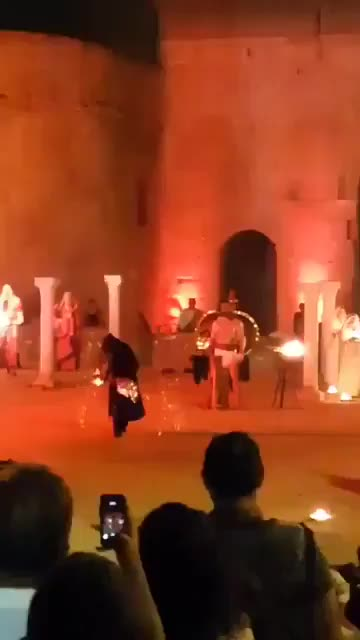 Watch Incredible fire dancer GIF by tothetenthpower (@tothetenthpower) on Gfycat. Discover more related GIFs on Gfycat