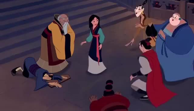 Watch Mulan is praised by the Emperor HD GIF on Gfycat. Discover more related GIFs on Gfycat