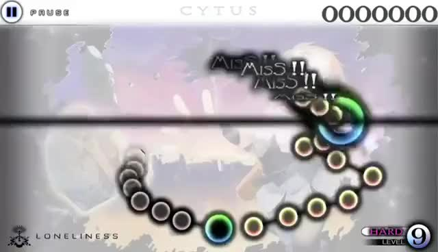 Watch Cytus 9.0 - L1 Loneliness (Hard) Old Chart GIF on Gfycat. Discover more related GIFs on Gfycat