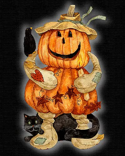 Watch and share Cute Pumpkin & Black Cat Gif Cute Cat Animated Gif Pumpkin Halloween GIFs on Gfycat