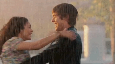 rain, raining, rainy, storm, wet, Couples Love romantic me and APPS romance dancing in the rain Love and Romance rain wet animated dance vanessa hudgens zac efron large GIFs