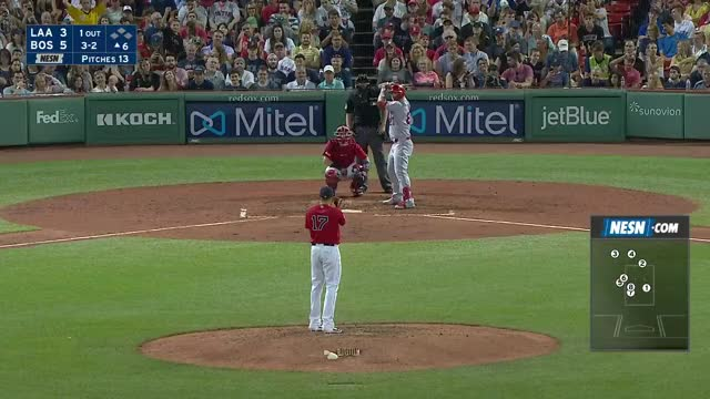 Watch and share Los Angeles Angels GIFs and Boston Red Sox GIFs by mmcelroy on Gfycat