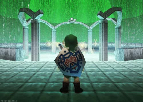 Watch and share Gifs Zelda Mm Legend Of Zelda Loz Majora's Mask Lozgraphics GIFs on Gfycat