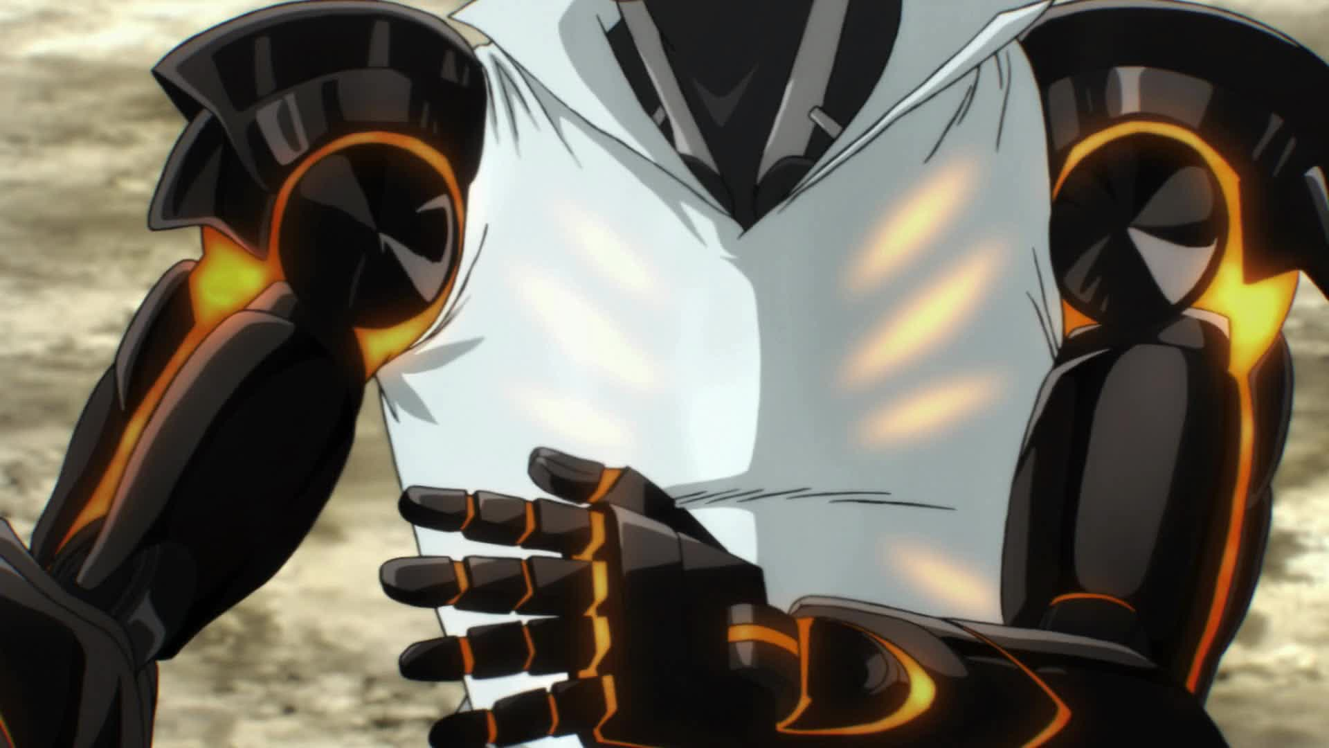 Genos Anti-Saitama Tactical Gear GIFs