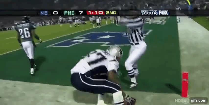 Superbowl, nfl, David Givens Super Bowl 39 TD Celebration GIFs
