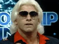 Watch and share Ric Flair, Woo, Son Of A Gun, Nature Boy, Rolex GIFs on Gfycat