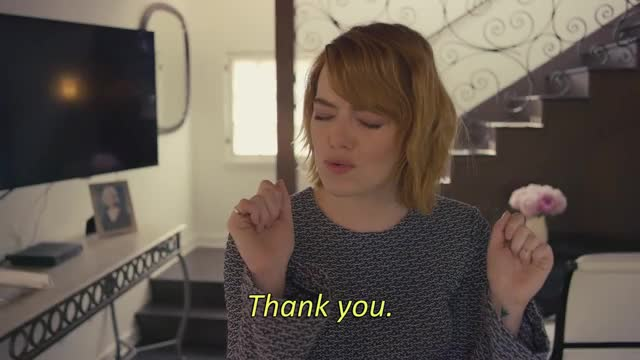 Watch and share Emma Stone GIFs and Thank You GIFs by Simo on Gfycat