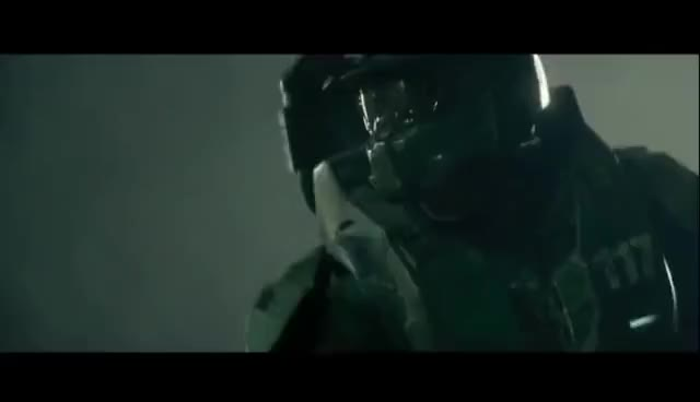 Watch and share Master Chief Vs Hunter - Live Action Fight Scene GIFs on Gfycat