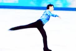 Watch and share Gifs Olympics Sochi 2014 Olympics 2014 Yuzuru Hanyu Hanyu Yuzuru GIFs on Gfycat