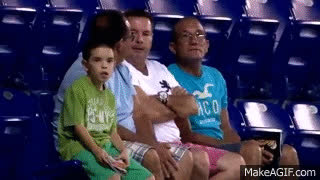 Fifa Worldcup 2014 - Crazy Dancing Kid in the Stands GIFs