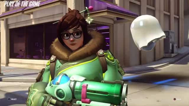 Watch POTG GIF by @mewiee on Gfycat. Discover more highlight, mei, overwatch GIFs on Gfycat