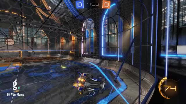 Watch Goal 1: BeK♦ GIF by Gif Your Game (@gifyourgame) on Gfycat. Discover more BeK♦, Gif Your Game, GifYourGame, Goal, Rocket League, RocketLeague GIFs on Gfycat