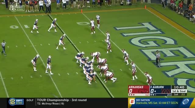 Watch NCAAF.2018.Week04.Arkansas.at.Auburn.TYT GIF on Gfycat. Discover more football GIFs on Gfycat