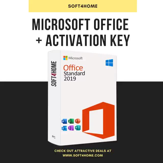 Watch and share Microsoft Office Standard Sale GIFs by Soft4Home on Gfycat