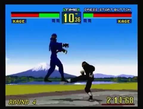 Watch and share Virtua Fighter Playthrough (SEGA Saturn) GIFs on Gfycat