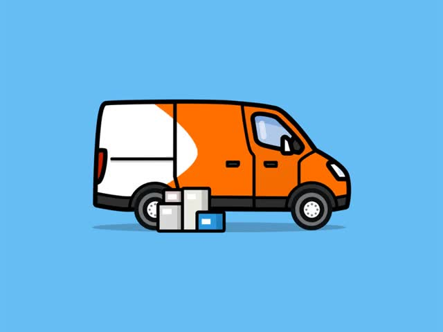 Watch and share 🚚 Delivery Truck GIFs on Gfycat