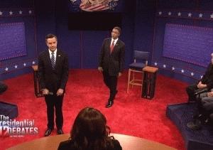 quityourbullshit, snl debate GIFs