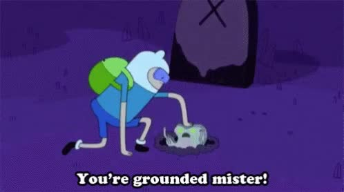 Watch Grounded Youre Grounded Mister GIF on Gfycat. Discover more related GIFs on Gfycat