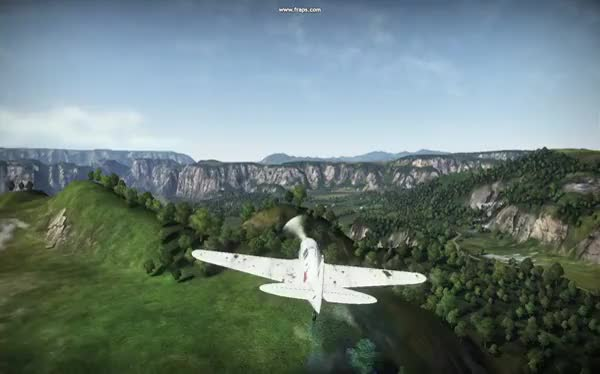 Warthunder] Flying at a high speed with a damaged wing  (reddit) GIF