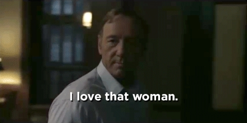 Kevin Spacey, Love her more than... GIFs