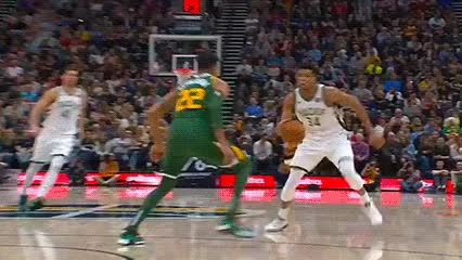 Watch Giannis Antetokounmpo — Milwaukee Bucks GIF by Off-Hand (@off-hand) on Gfycat. Discover more 030219 GIFs on Gfycat
