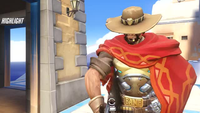 Watch and share Overwatch GIFs and Mccree GIFs by ermahgerd NA on Gfycat