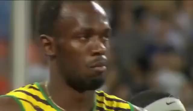 Jornal Nacional 05/08/2017  Bolt chega em terceiro na despedida dele dos 100 metros