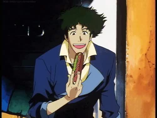 Watch and share Cowboy Bebop Blue GIFs on Gfycat